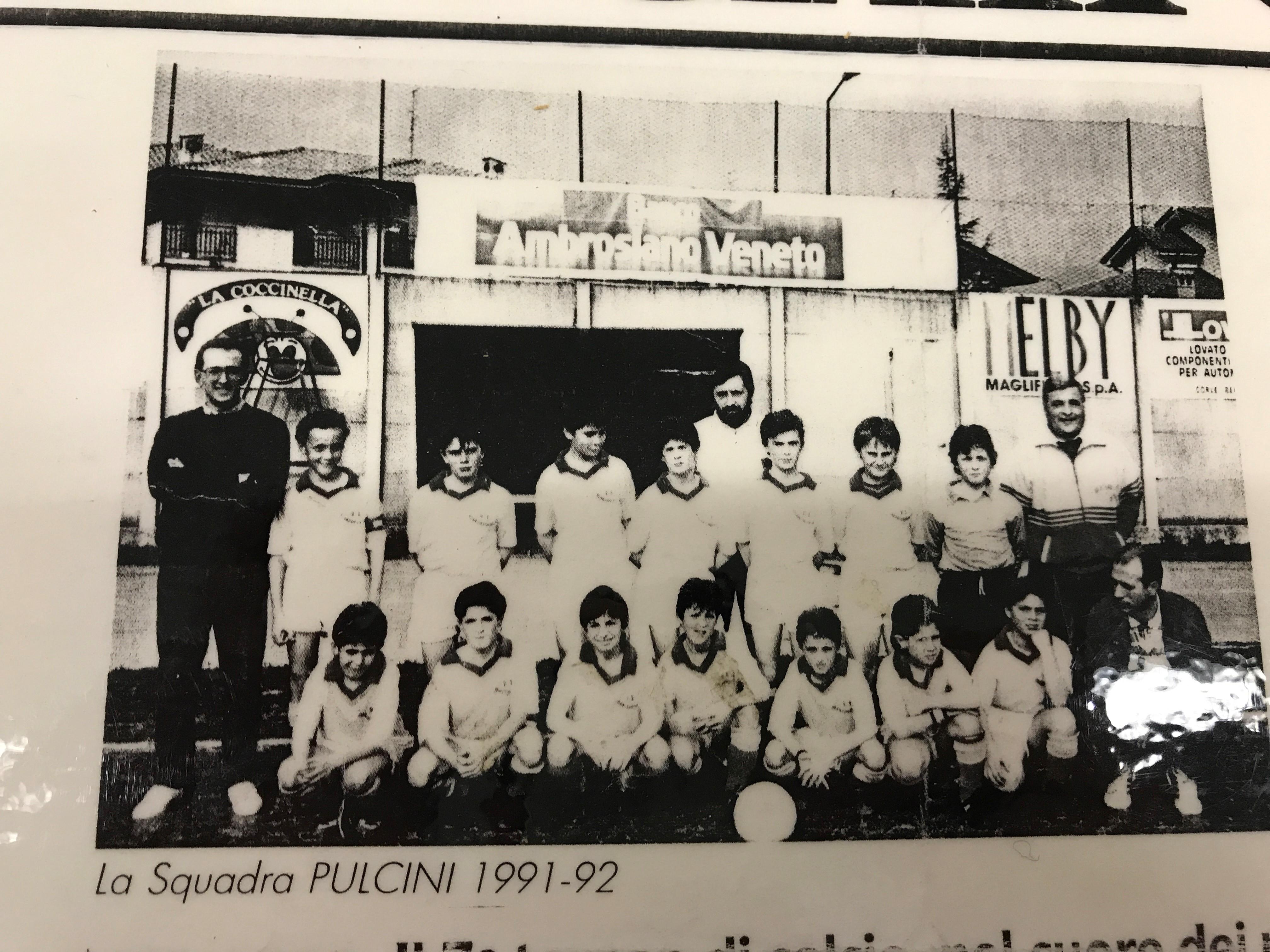 STORIE DI…PARTITE: TROFEO INTERNAZIONALE BELLUSCO 1991-1992