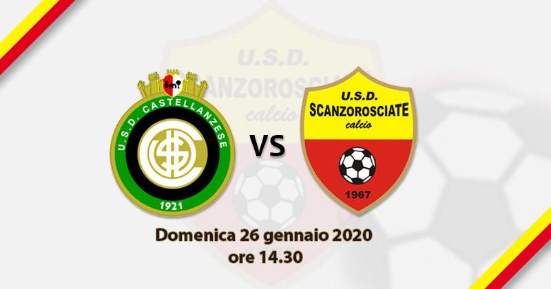 24^ GIORNATA SERIE D, GIRONE B: CASTELLANZESE-SCANZOROSCIATE